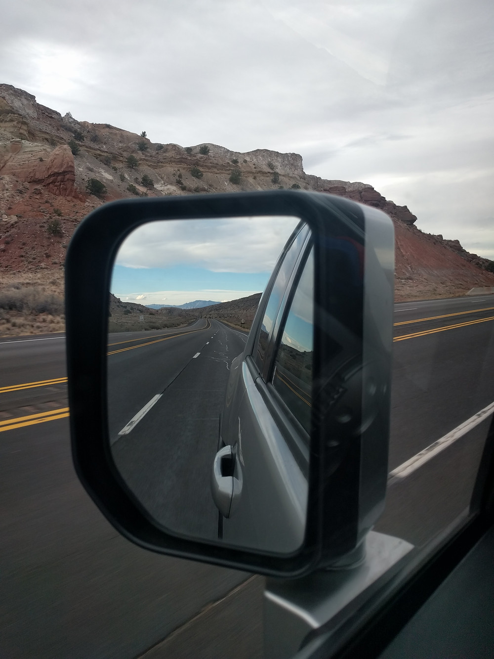 A view of the open road