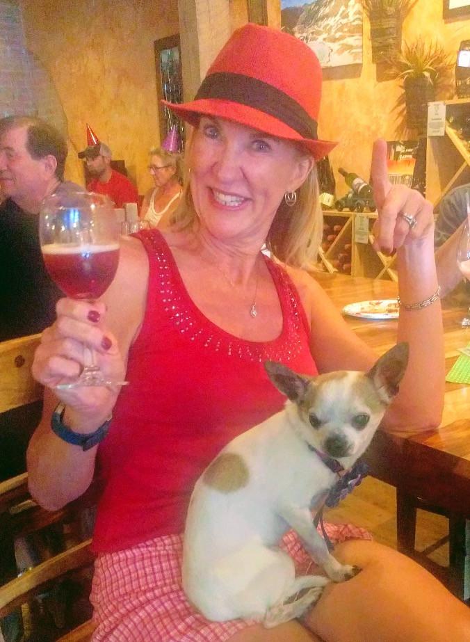 Dana, the wine maker