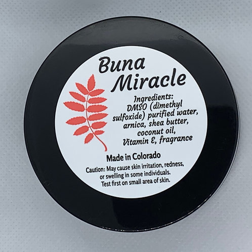 Buna Miracle Sports Recovery Cream 4 ounce