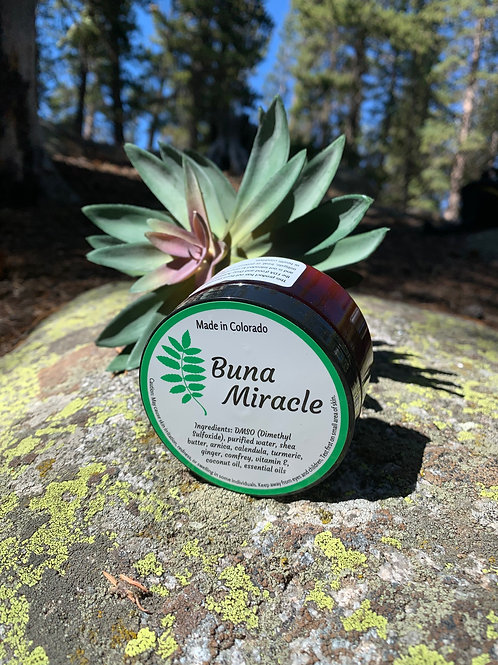 Buna Miracle Soothing Cream 4oz