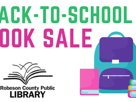 BACK TO SCHOOL BOOK SALE