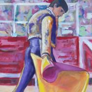 christian-laloux/peinture/beaux-arts/decoration/habits-de-lumiere/toromachie/toreador/taureau/corrida/muleta/paseo/acrylique/toile.jpeg
