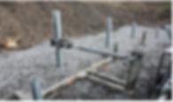 glissières de sécurité dispositif de retenue