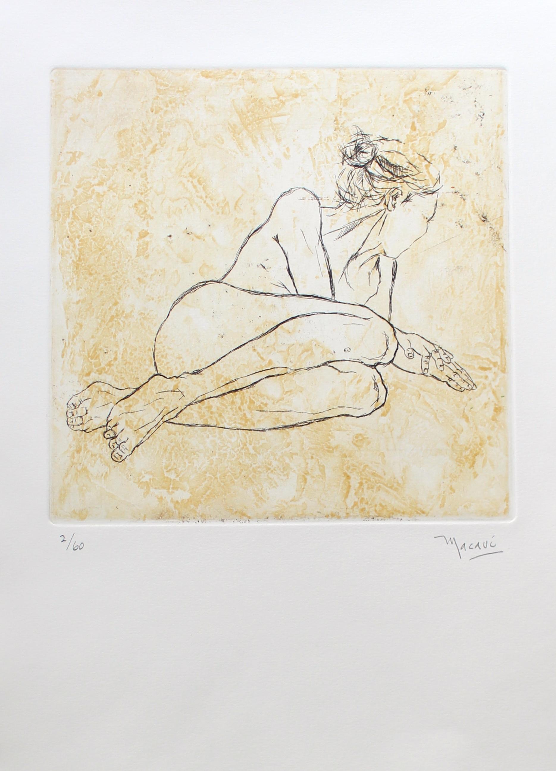 Mujer II    grabado        28 x 39  cm.