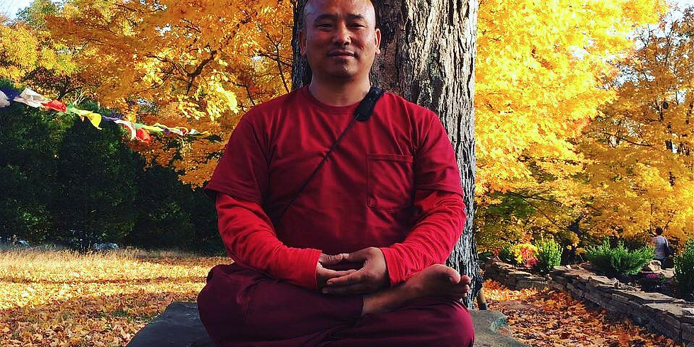 Meditation & Himalayan Yoga with Khenpo Tenkyong