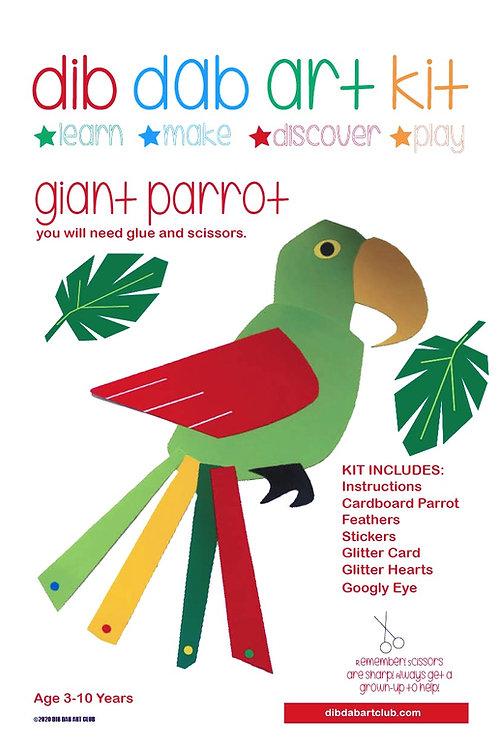 Make A Parrot Art Kit
