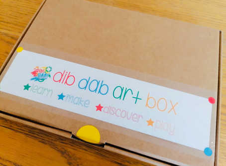 Dib DAB Art Boxes