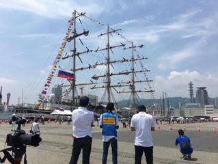 神戸市 開港150周年記念事業 帆船フェスティバルに参加しました