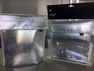 DJI純正 バッテリーセーフバッグ入荷のお知らせ