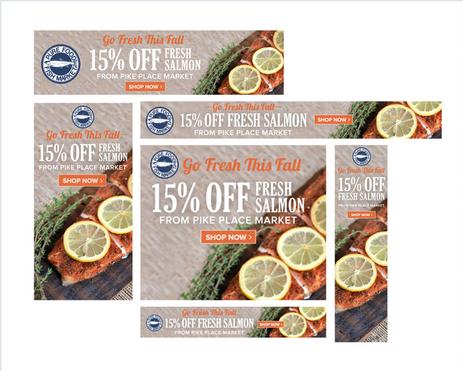 Fresh Fall Web Ads