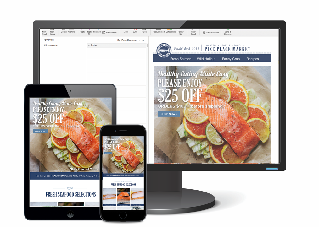 Fresh Seafood Email