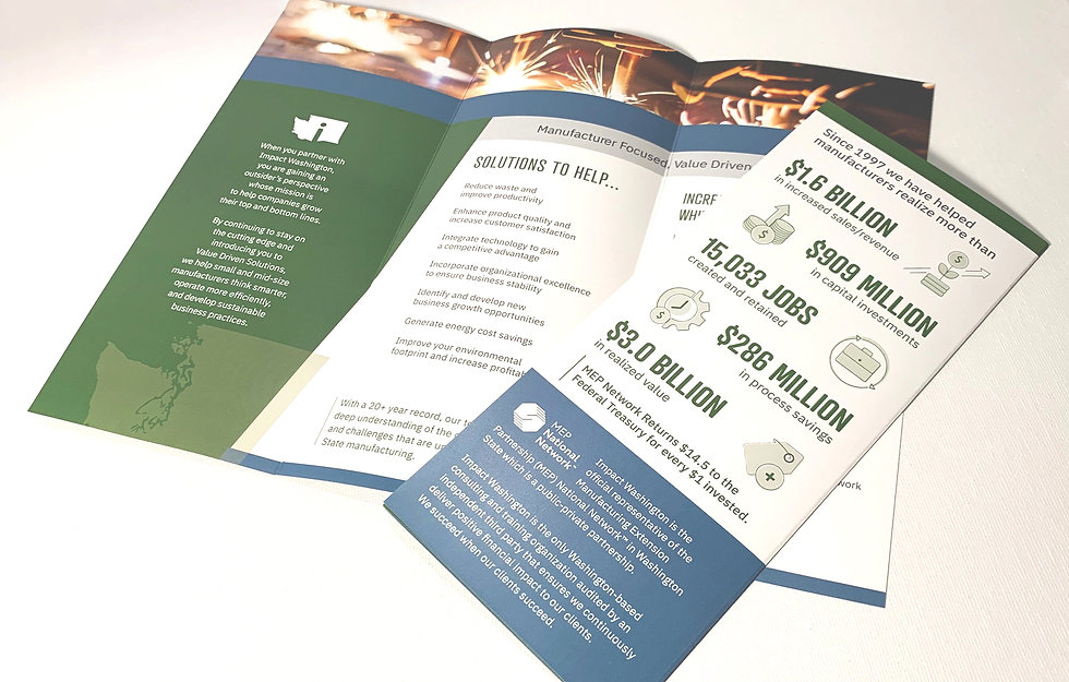 Impact Washington Brochure