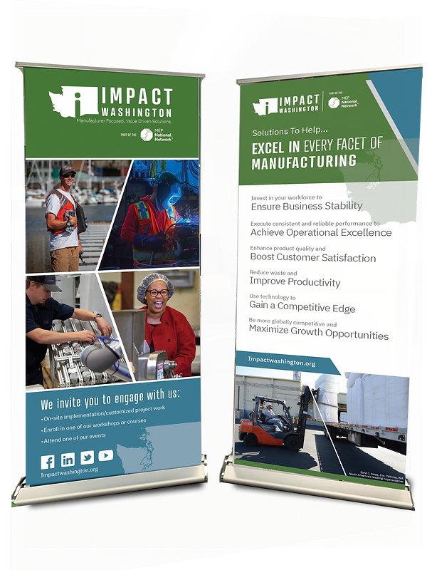 Impact Washington Tradeshow Banner