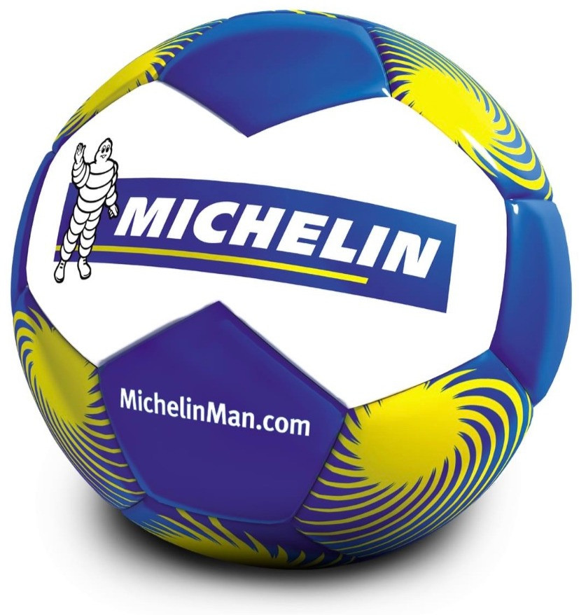 Michelin custom soccer ball