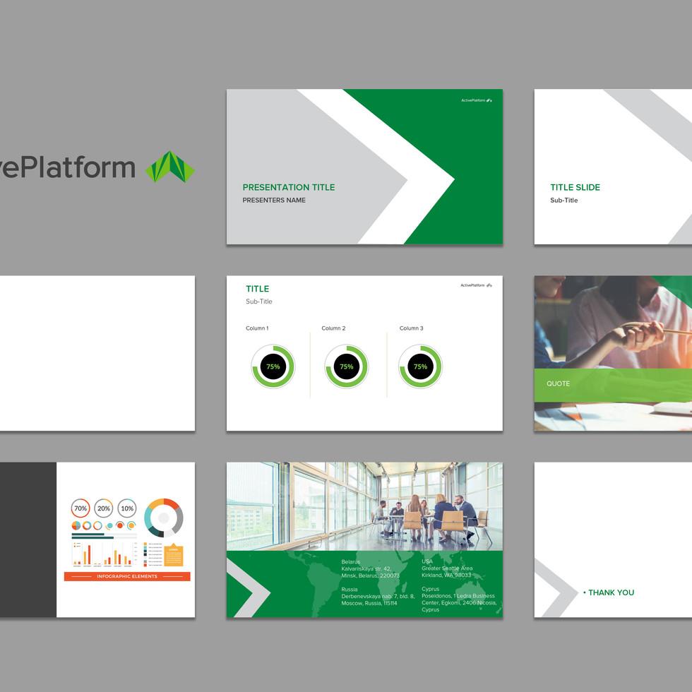 Active Platform Customized Powerpoint