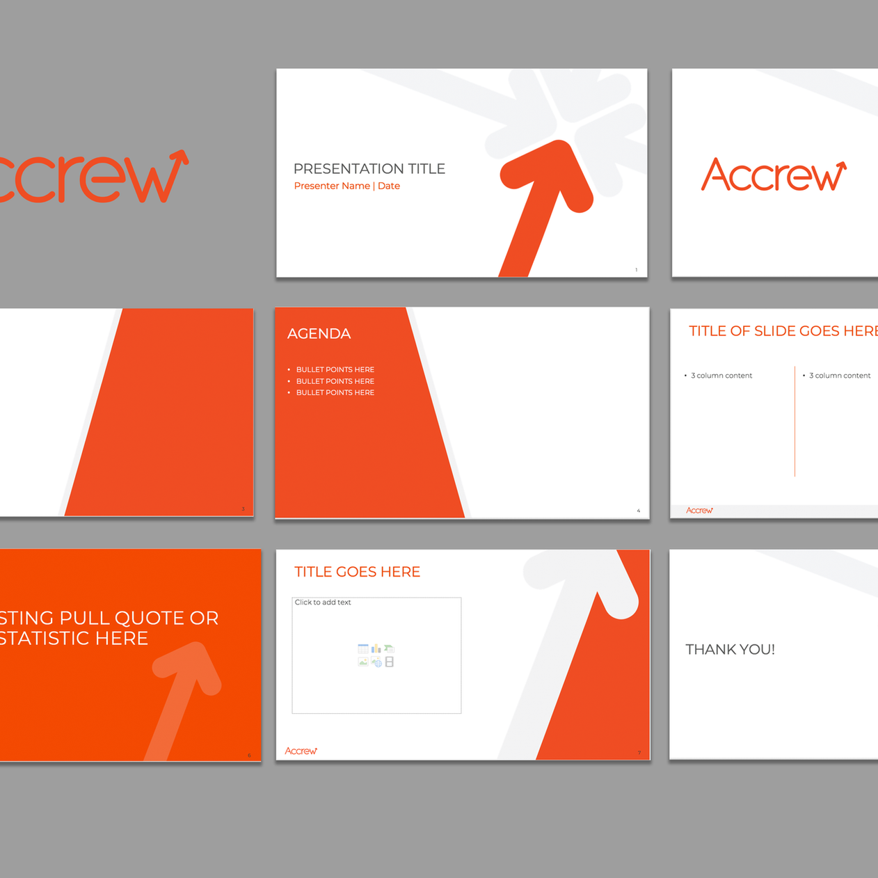 Accrew Customized Powerpoint