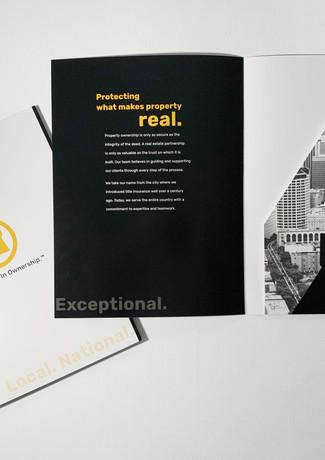 Chicago Title Customized Folder