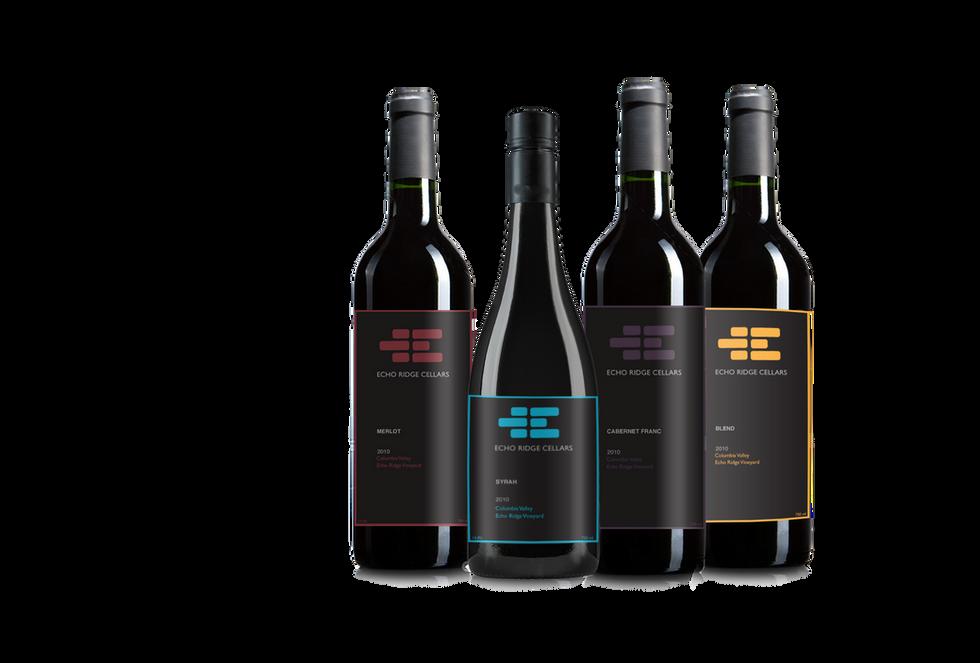 Echo Ridge Wine Bottle Label