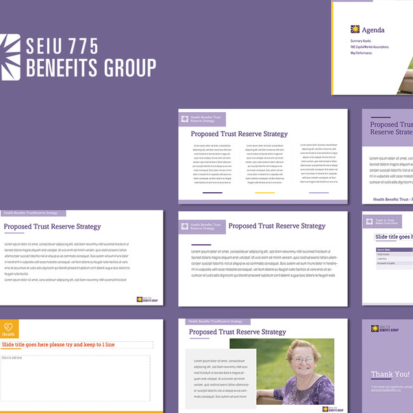Benefits Group Customized Powerpoint