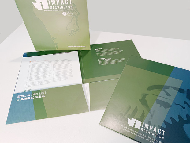 Impact Washington Customized Folder