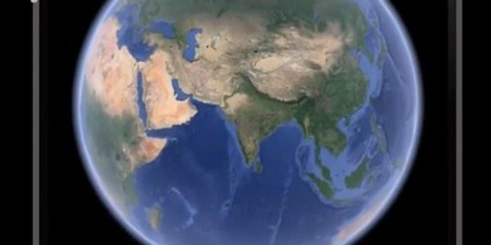 Google Earth- לתור את העולם דרך המסך 29.6 16:00