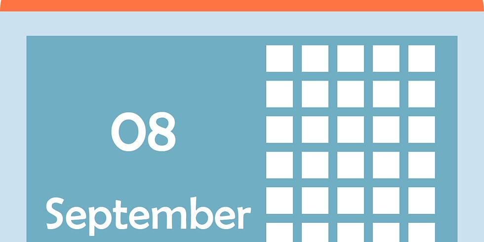 הכנת לוח שנה אישי- חלק ב' 8.9 16:00