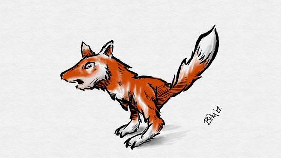 Tyrannosaurus Fox
