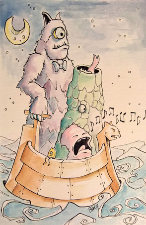 Boat of Monsters