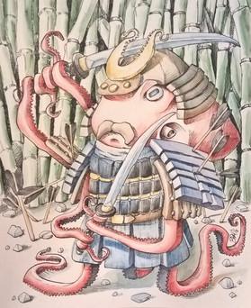Samurai Ocotpus