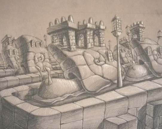 Snail housing