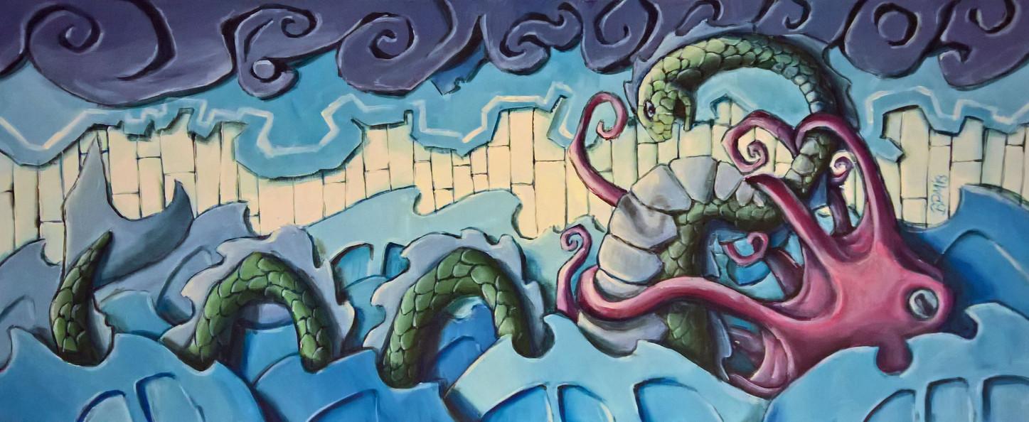 Kraken vs. Sea Monster
