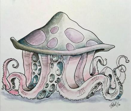 Tentacled Mushroom