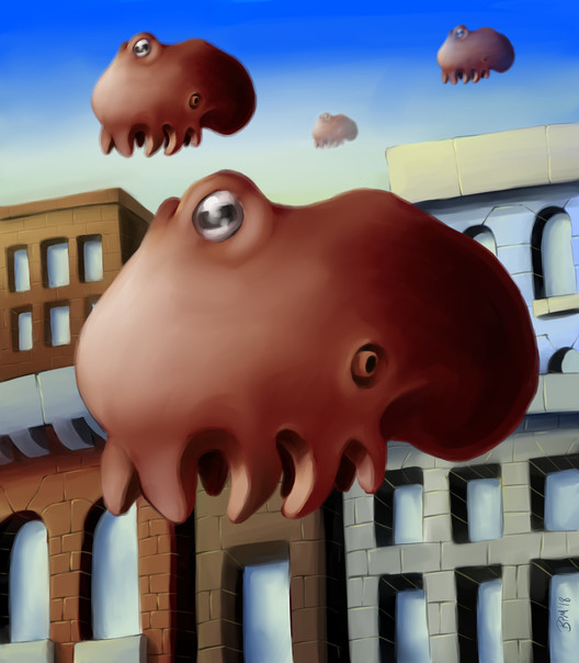 Inflated Octopus