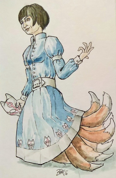 Kitsune Princess