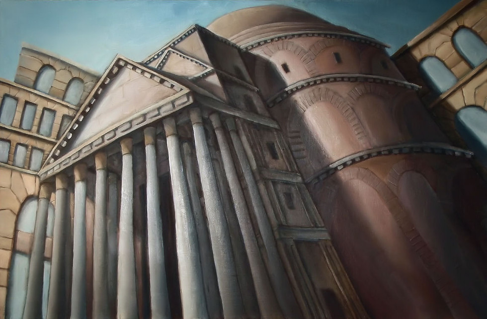 The Pantheon, Rome (perspective)