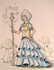 The Mushroom Queen