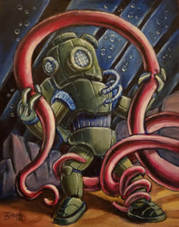 Failure of the XP7 Diving Suit