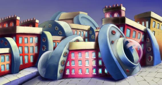 Alien Apartments