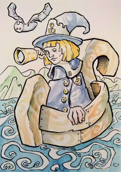Nautical Witch
