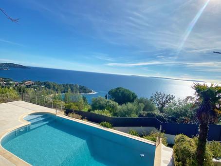 Villa provençale vue mer à La Fossette