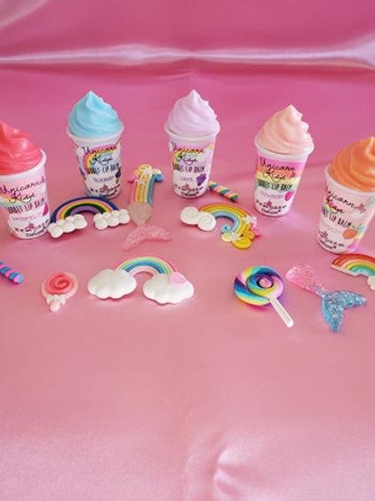 Unicorn Fruit Flavor Lip Gloss