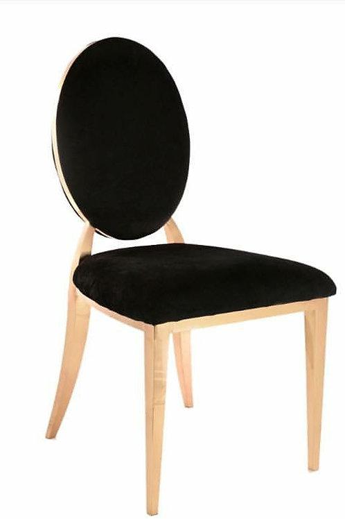 Leather (Black & White) Washington Chair