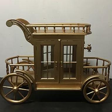 Small Royal Cake Cart