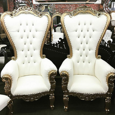 High Back Royal Chairs