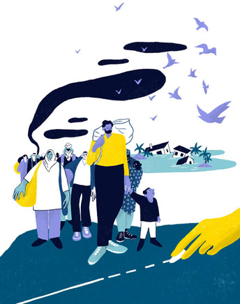 Migration et climat, sortir du scénario catastrophe