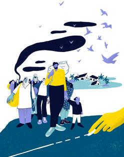 """Inspiré du podcast """"Migration et climat, sortir du scénario catastrophe"""""""