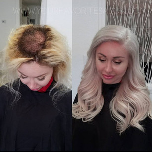 Orlando Hand Tied Extensions I Link Extensions Tape In extensions seamless extensions fusion extensions keratin extensions hand tied orlando hand tied hair near me your favorite salon bayalayge trichotillomania trich therapy