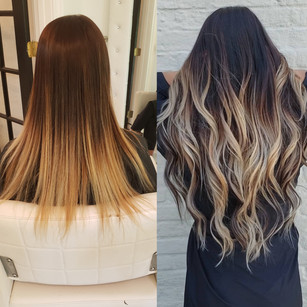 Orlando Hand Tied Extensions I Link Extensions Tape In extensions seamless extensions fusion extensions keratin extensions hand tied orlando hand tied hair near me your favorite salon bayalayge