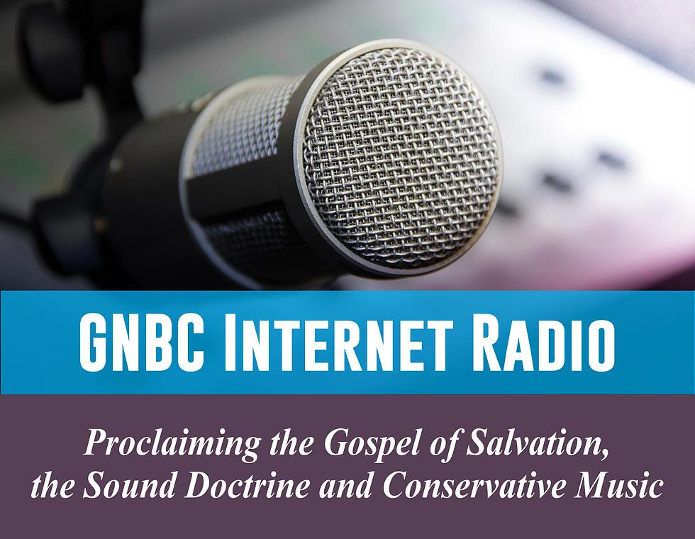 GNBC Internet Radio - Header Web Site -
