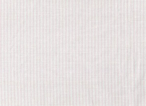 Fairytale Pink Dotty & Stripy on White Linen